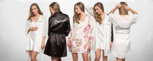 Satin Robes – A New Dawn, Engaged Apparel Bridal & Occasion Accessories Ireland