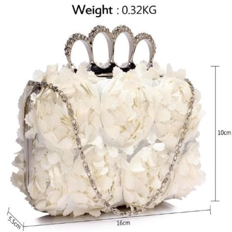 Statement Knuckle Rings Evening Bag