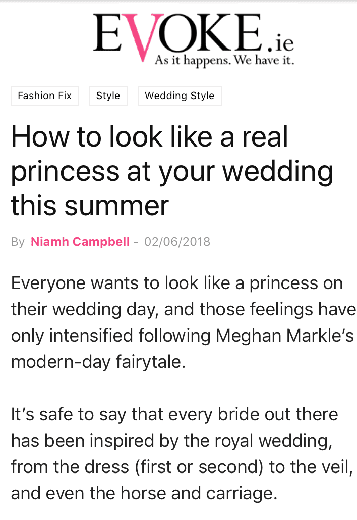 Princess Wedding Feature